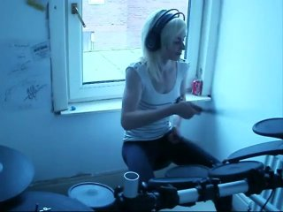 Flo Rida ft. David Guetta - Club Can't Handle Me (Drum cover by Kayleigh Rogerson)